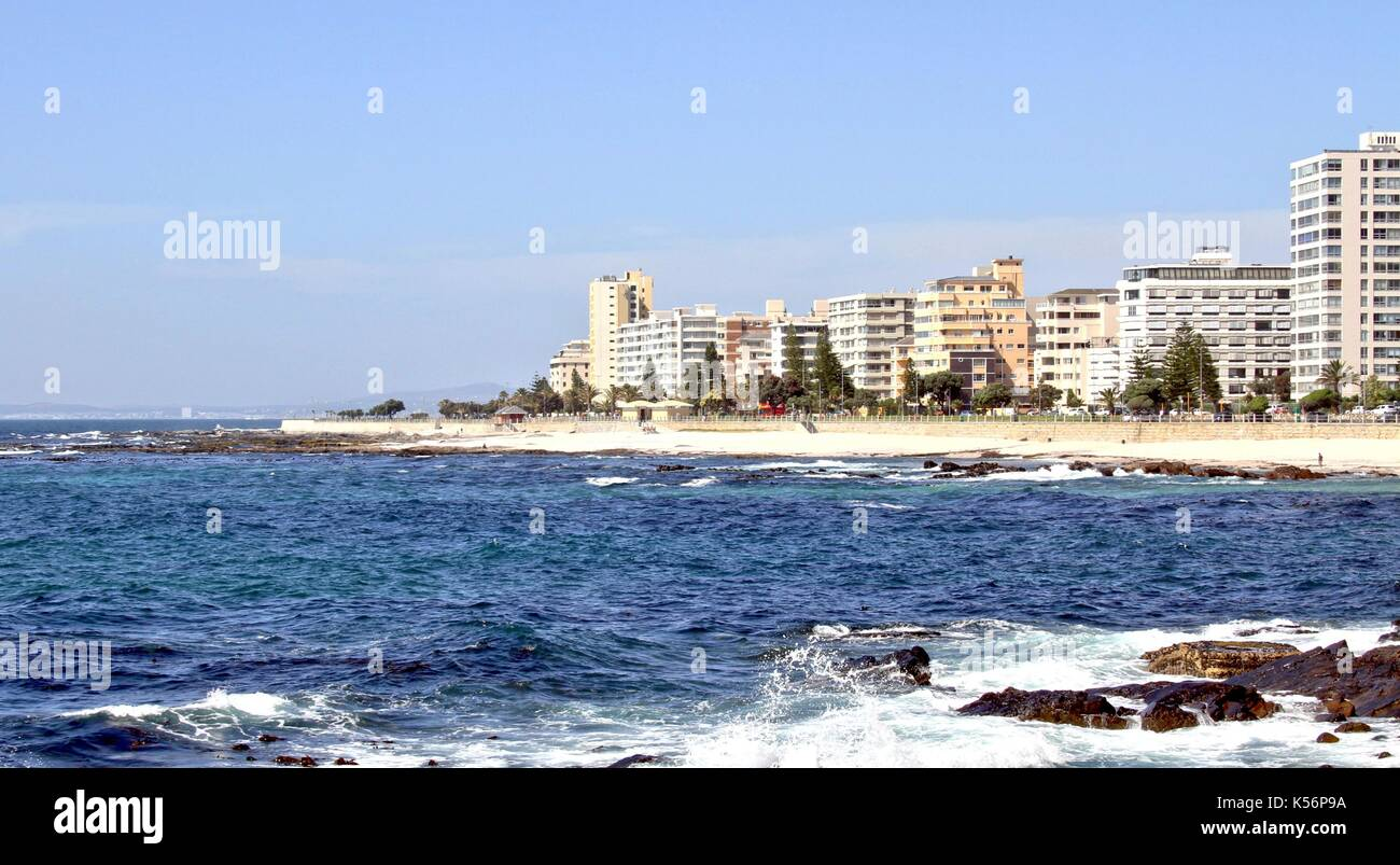 Sea Point, Cape Town - Stock Image