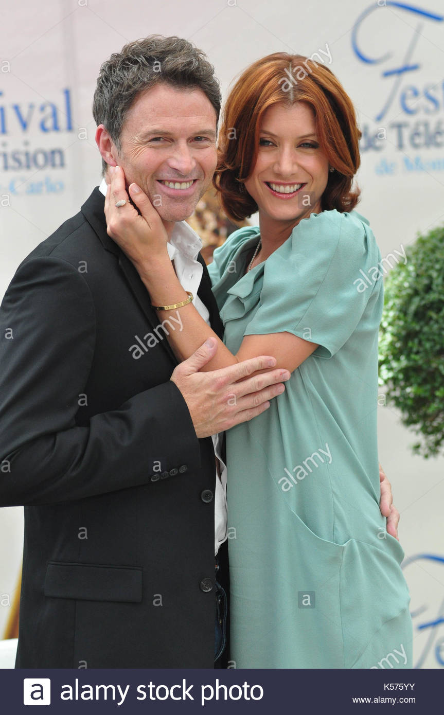 Kate Walsh and Tim Daly. US actors Tim Daly and Kate Walsh from ...
