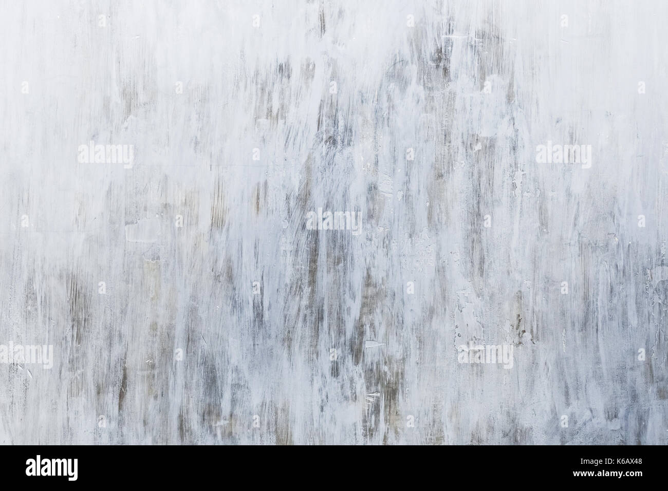 Grunge texture of gray painted wall - Stock Image
