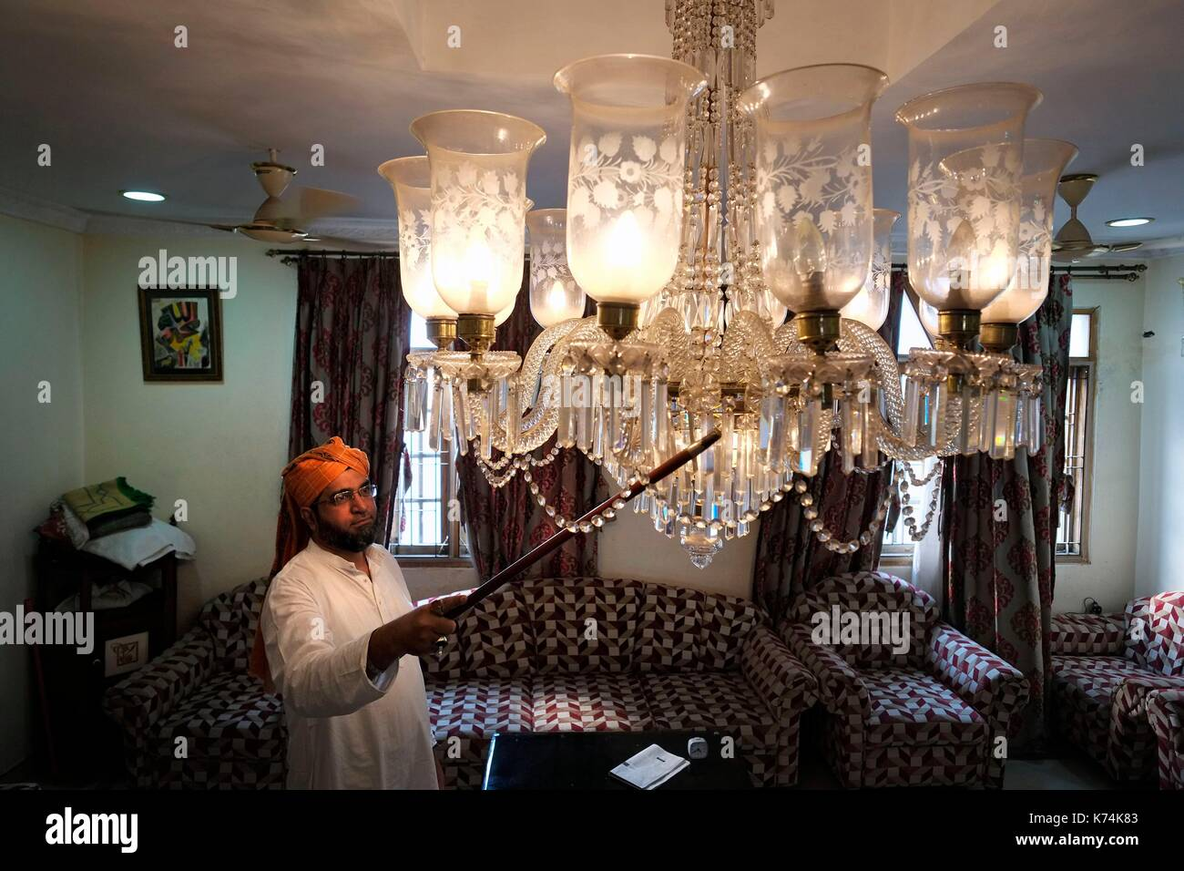India telangana hyderabad at moudjis house filled with belgian india telangana hyderabad at moudjis house filled with belgian chandeliers in the aloadofball Gallery