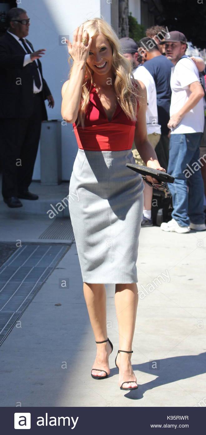 Joanne Froggatt. Joanne Froggatt arrives at the SLS hotel party. - Stock Image