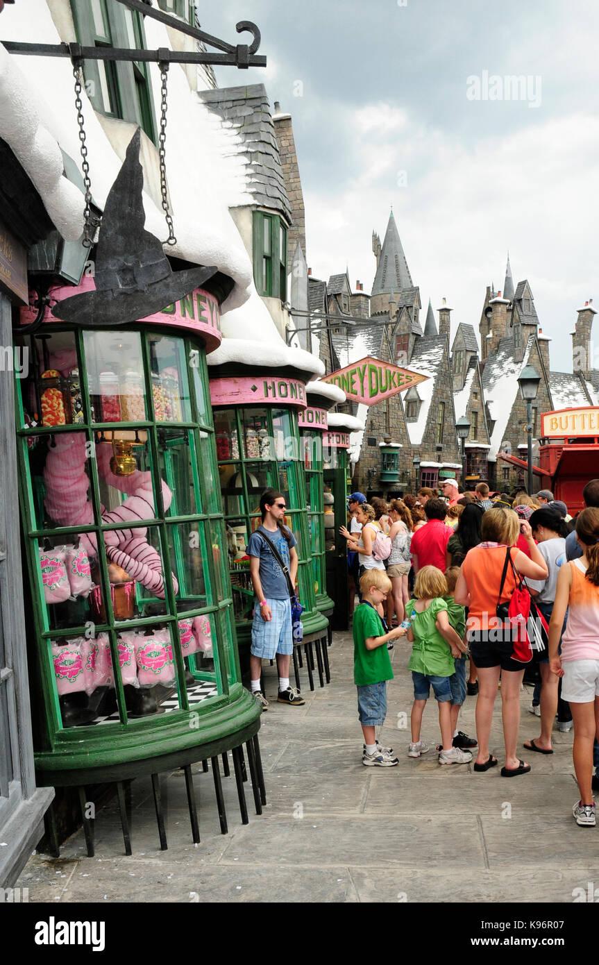the wizarding world of harry potter universal studios florida usa