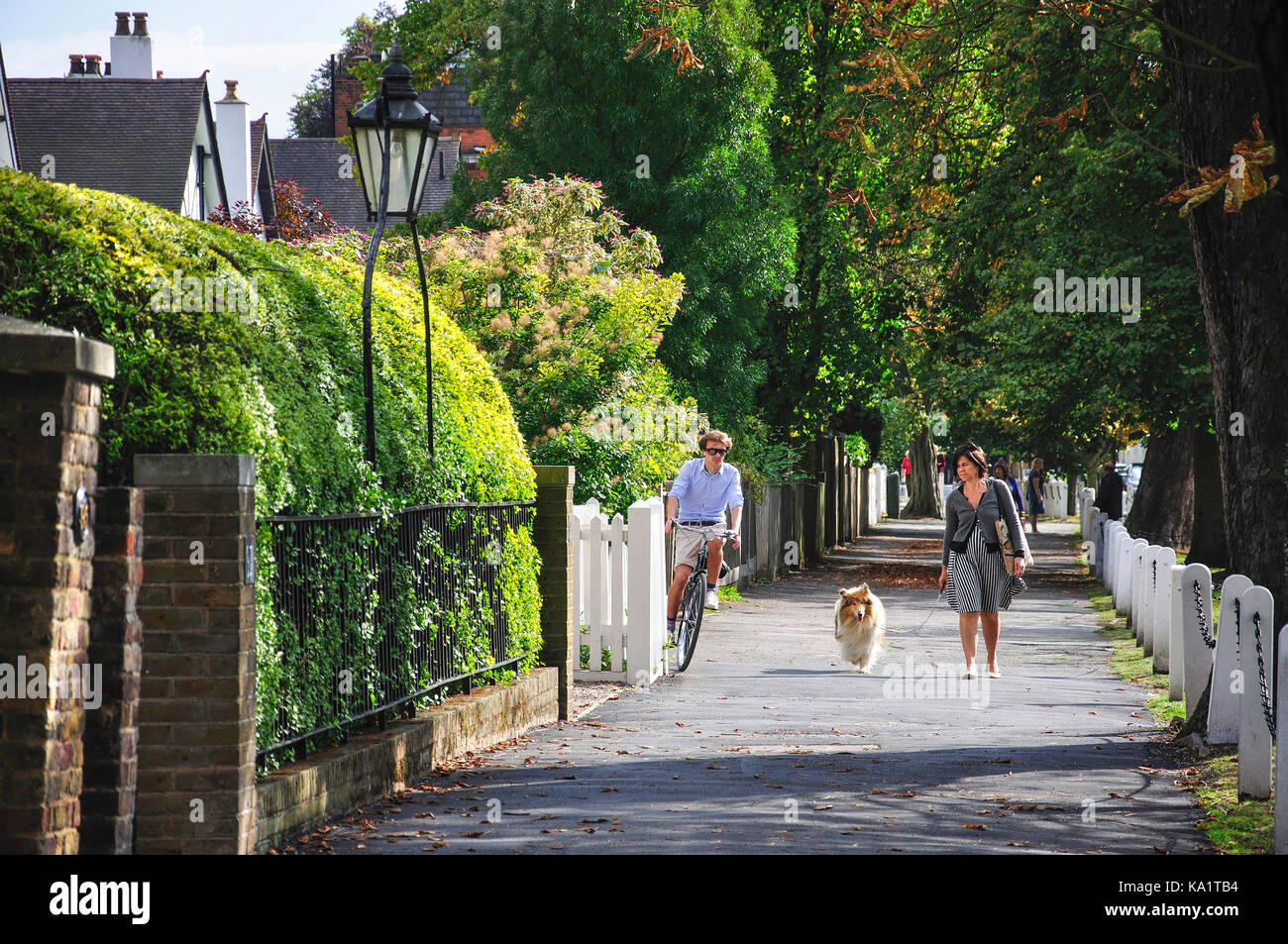 Dulwich Village, Dulwich, London Borough of Southwark, London, Greater London, England, United Kingdom Stock Photo
