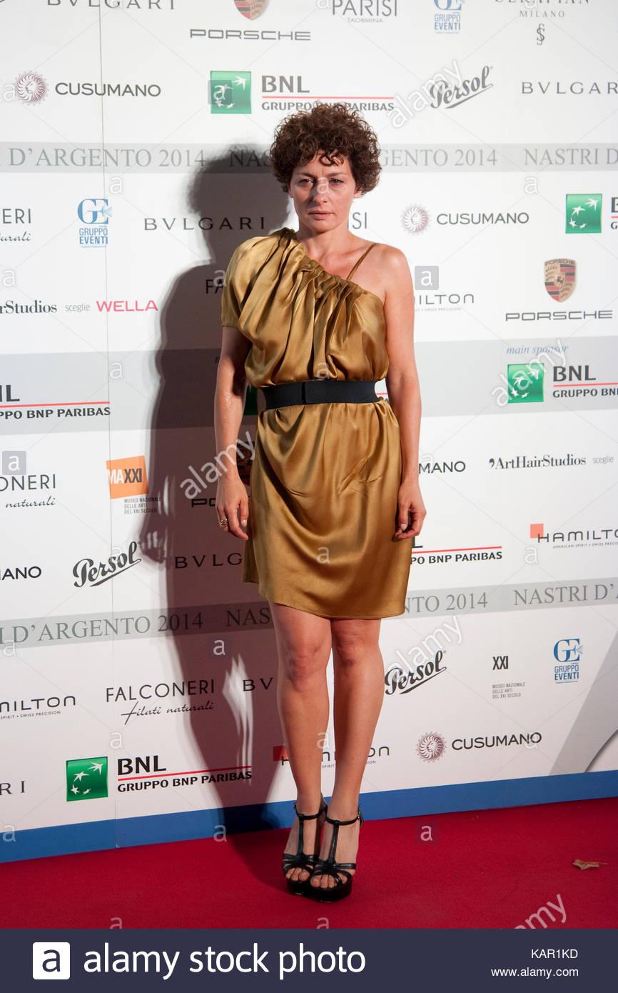 Lidia Vitale. Nastri D'Argento 2014. - Stock Image