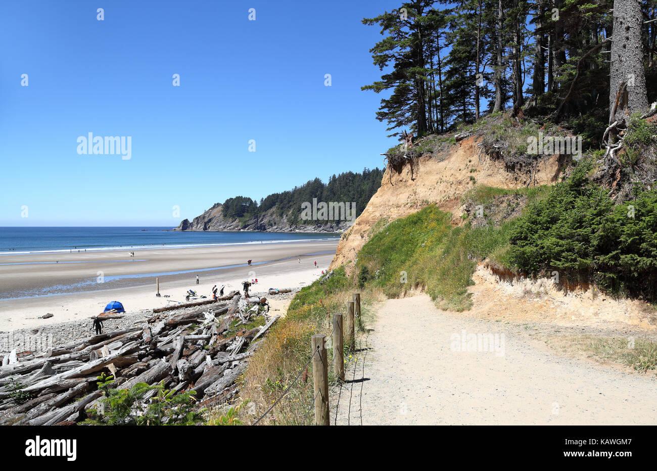 Short Sand Beach, Oswald West, Oregon Stock Photo