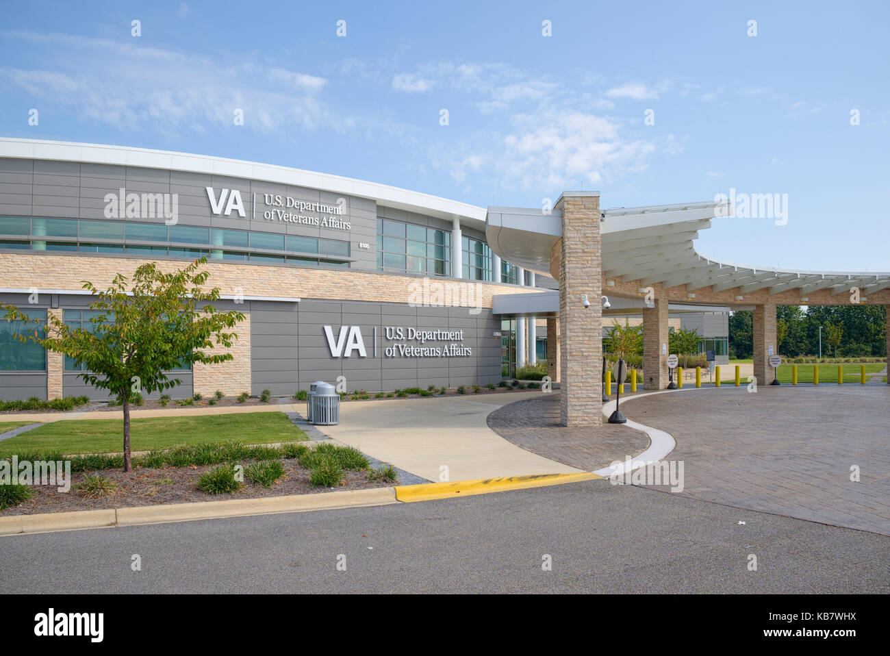 U.S. Department of Veterans Affairs, VA hospital, outpatient clinic in Montgomery, Alabama, United States. Stock Photo