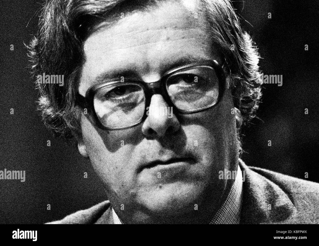 Richard Edward Geoffrey Howe, Baron Howe of Aberavon, CH, PC, QC, known from 1970 to 1992 as Sir Geoffrey Howe, - Stock Image