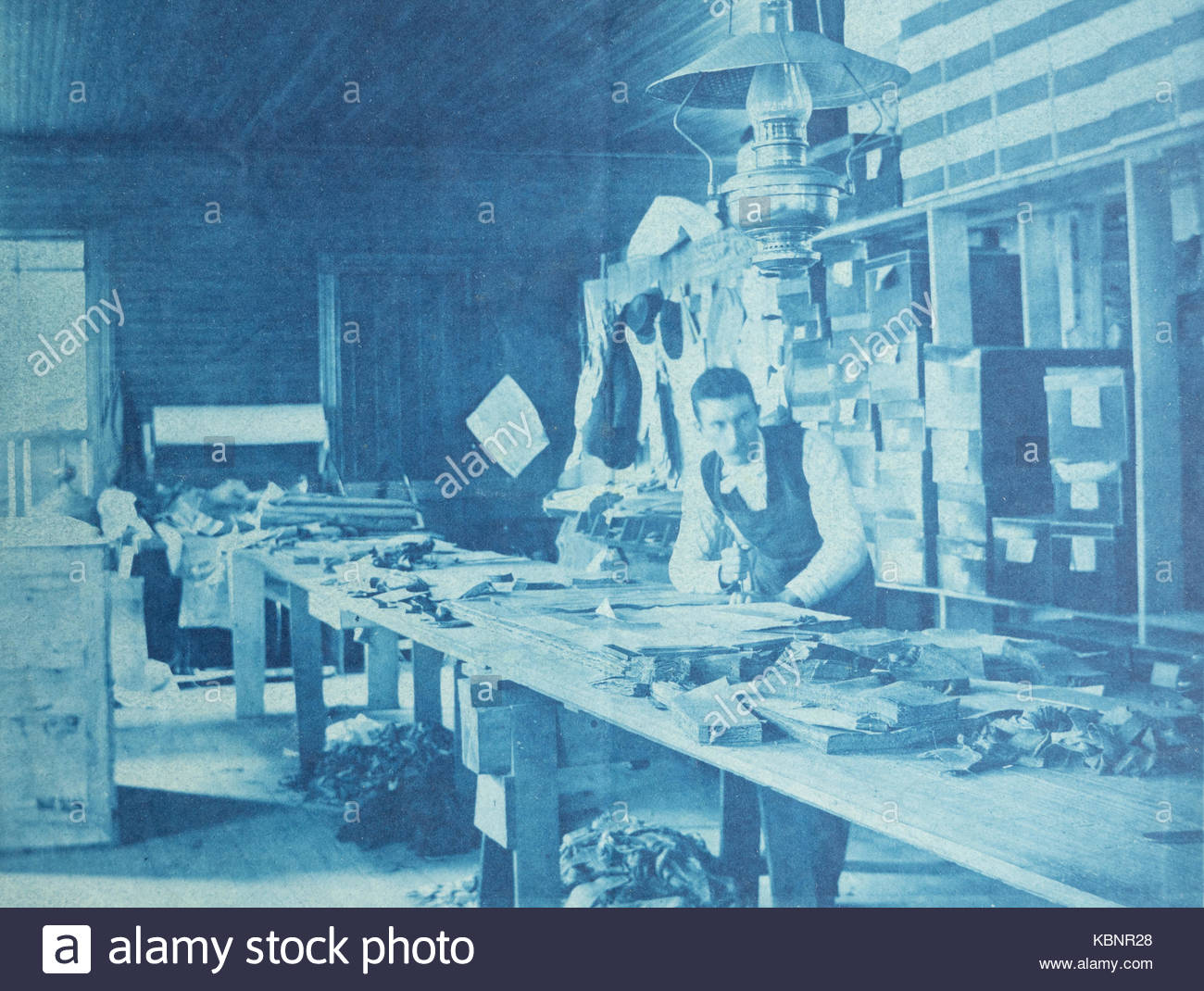 american-archive-cyanotype-photograph-of