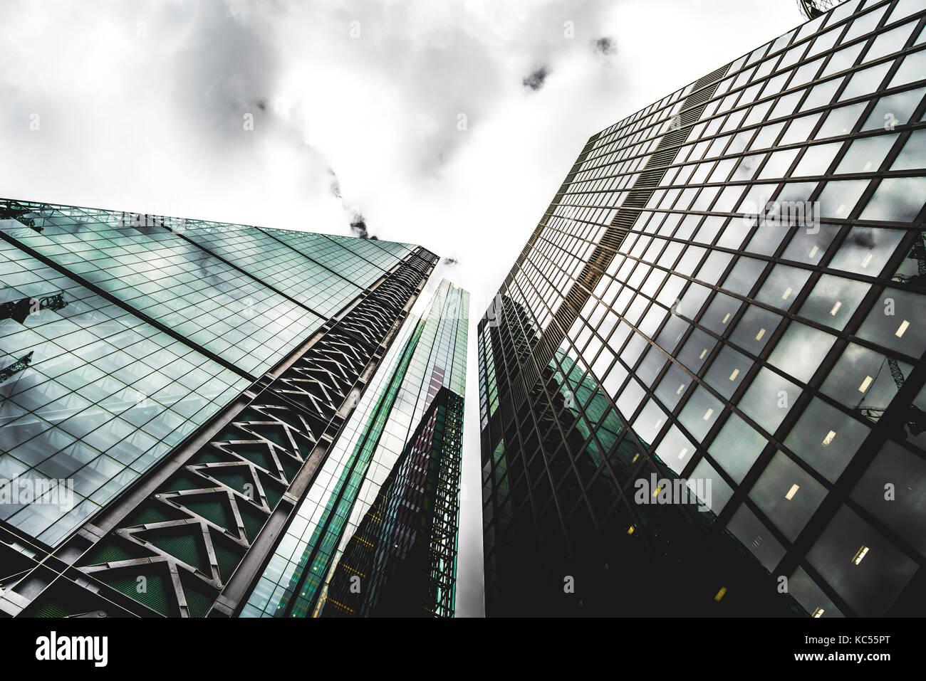 Leadenhall Market Building, City of London, London, England, United Kingdom - Stock Image