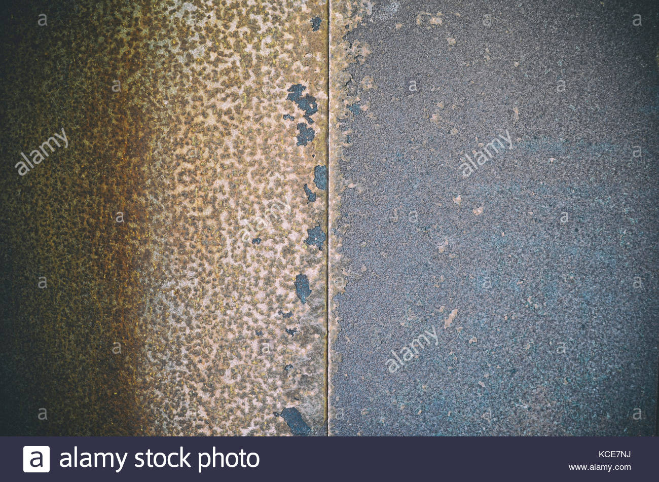 A corroded surface - Stock Image