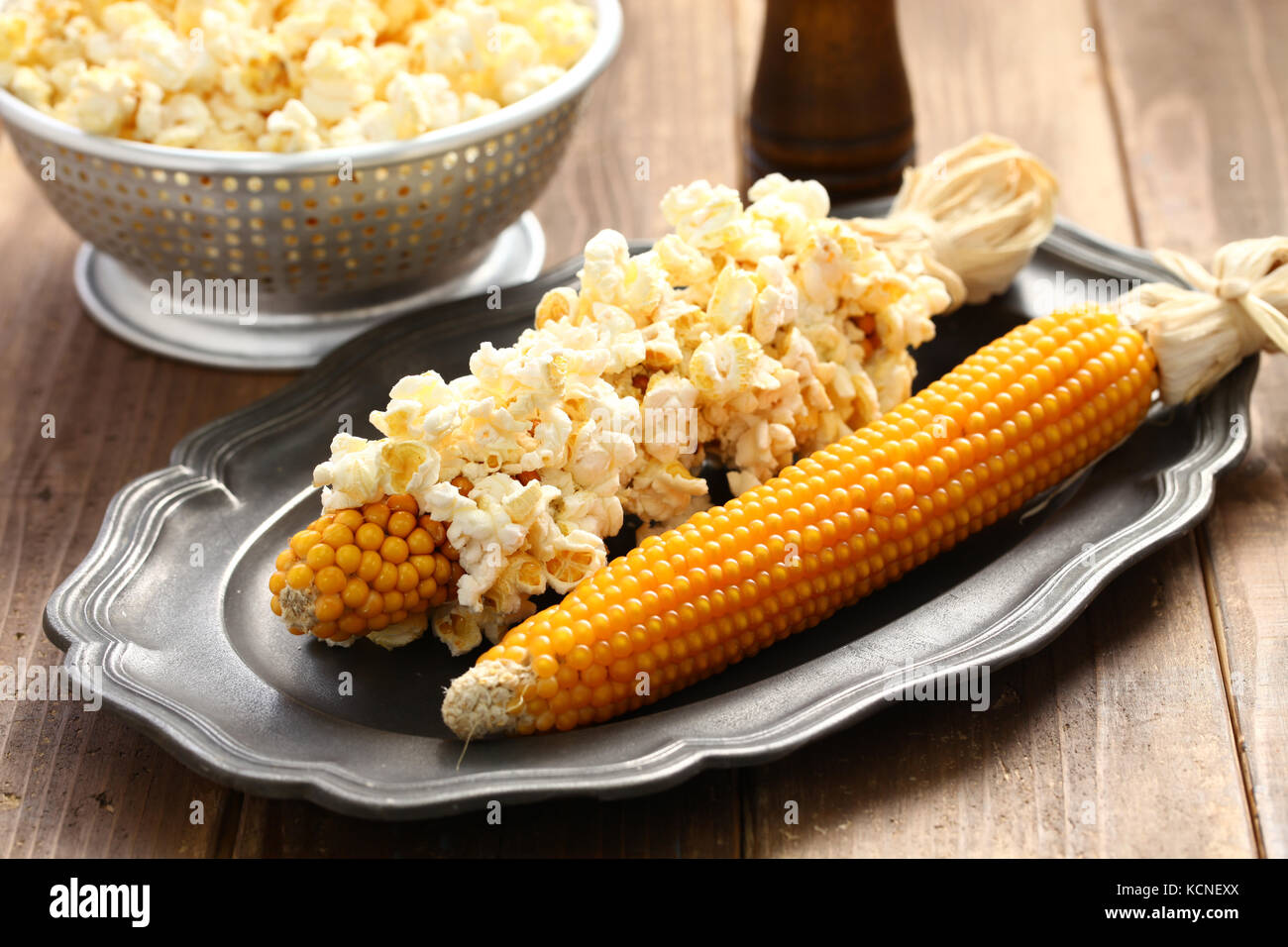 how to make popcorn from corn in microwave