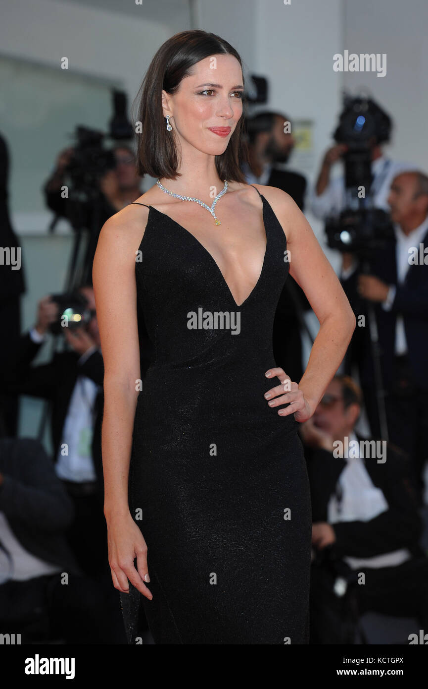 74th Venice Film Festival - 'Mother!' - Premiere  Featuring: Rebecca Hall Where: Venice, Italy When: 05 Sep - Stock Image
