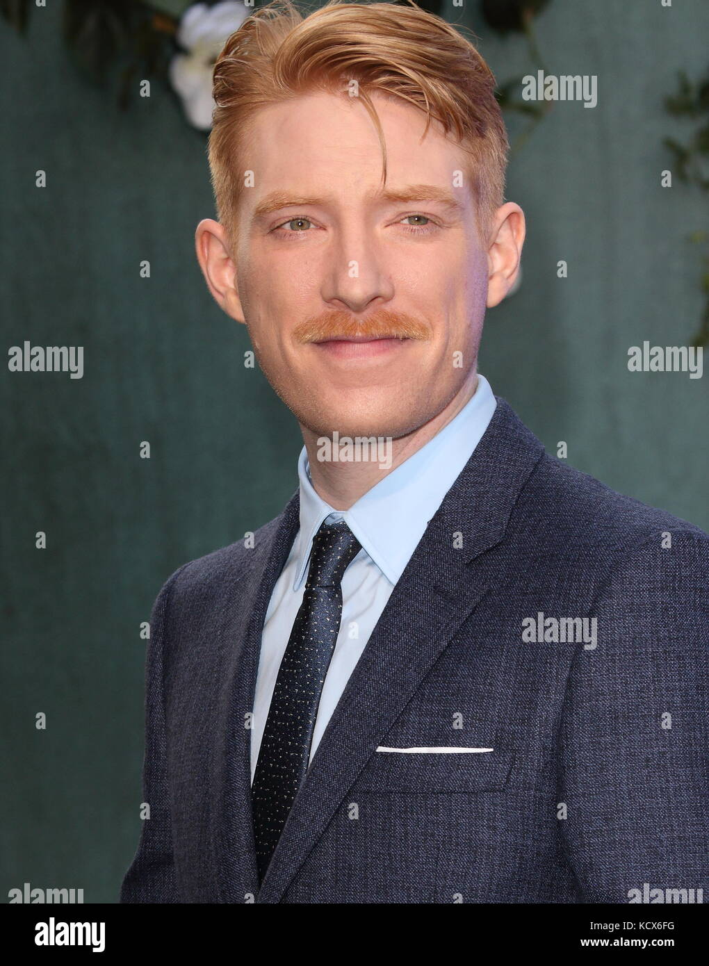 Mother! UK film premiere at the Odeon Leicester Square, London  Featuring: Domhnall Gleeson Where: London, United - Stock Image