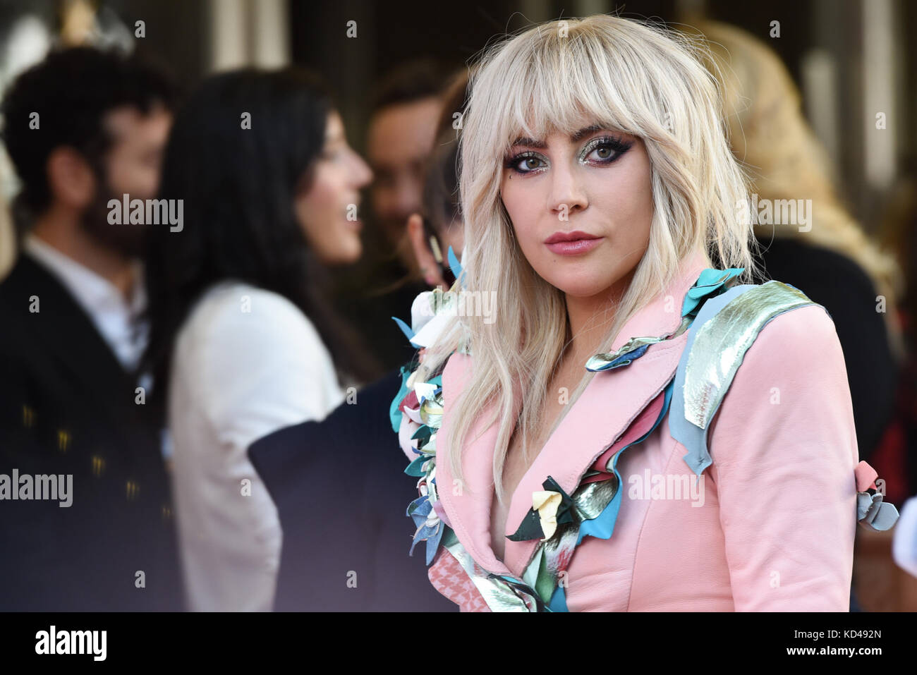 42nd Toronto International Film Festival - Lady Gaga Photocall  Featuring: Lady Gaga Where: Toronto, Canada When: - Stock Image