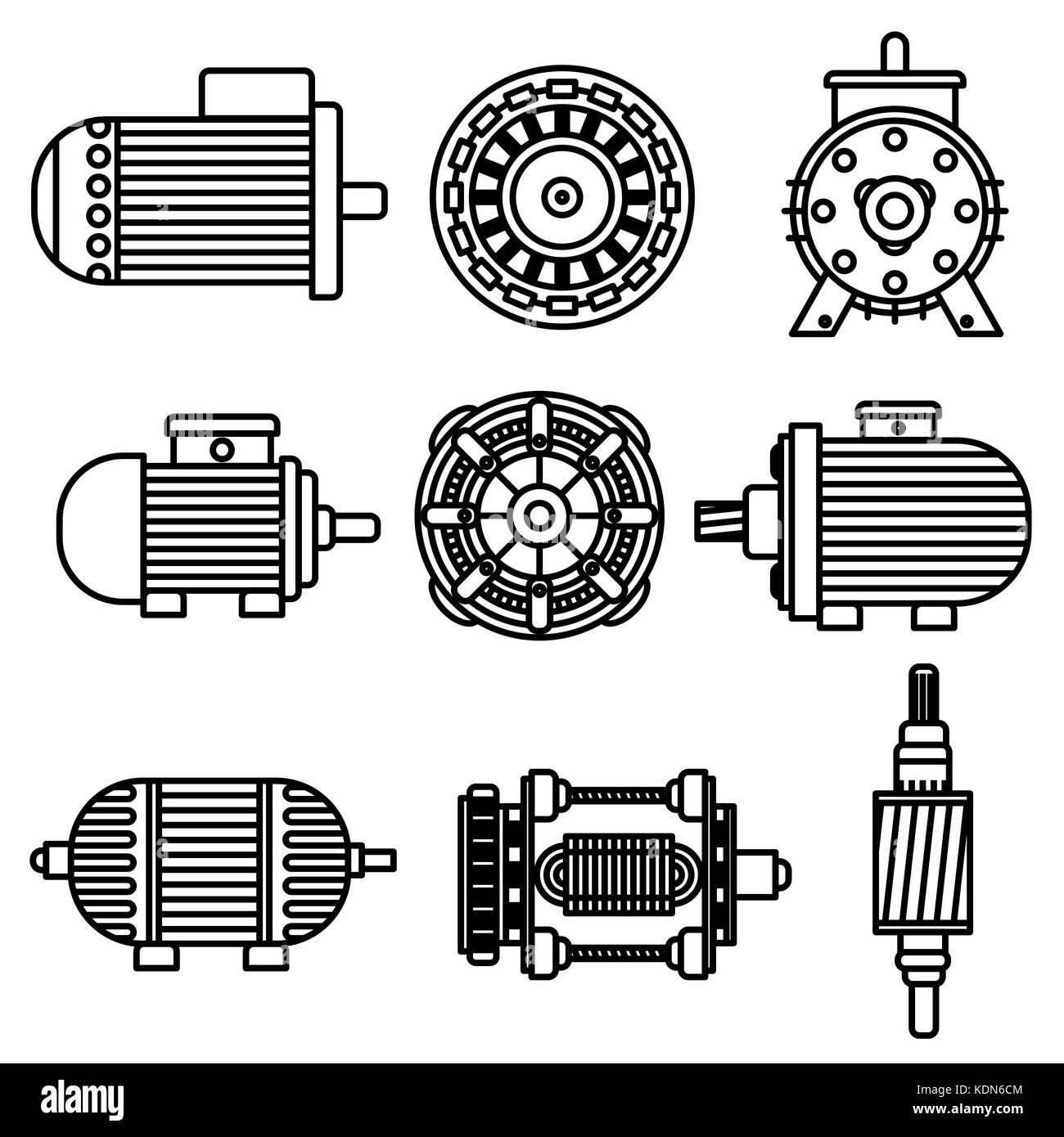 Fantastisch Elektromotor Symbole Zeitgenössisch - Die Besten ...