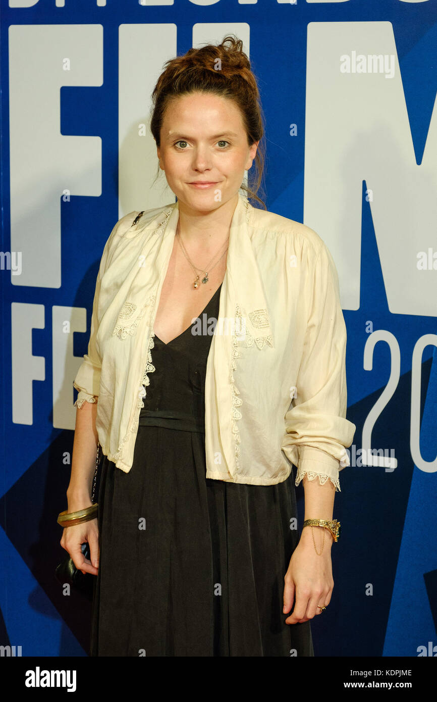 London, UK. 14th October, 2017. Lucy Cohen at the Festival Awards Dinner for the  London Film Festival at Banqueting - Stock Image