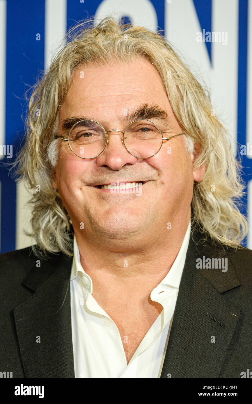 London, UK. 14th October, 2017. Paul Greengrass at the Festival Awards Dinner for the  London Film Festival at Banqueting - Stock Image