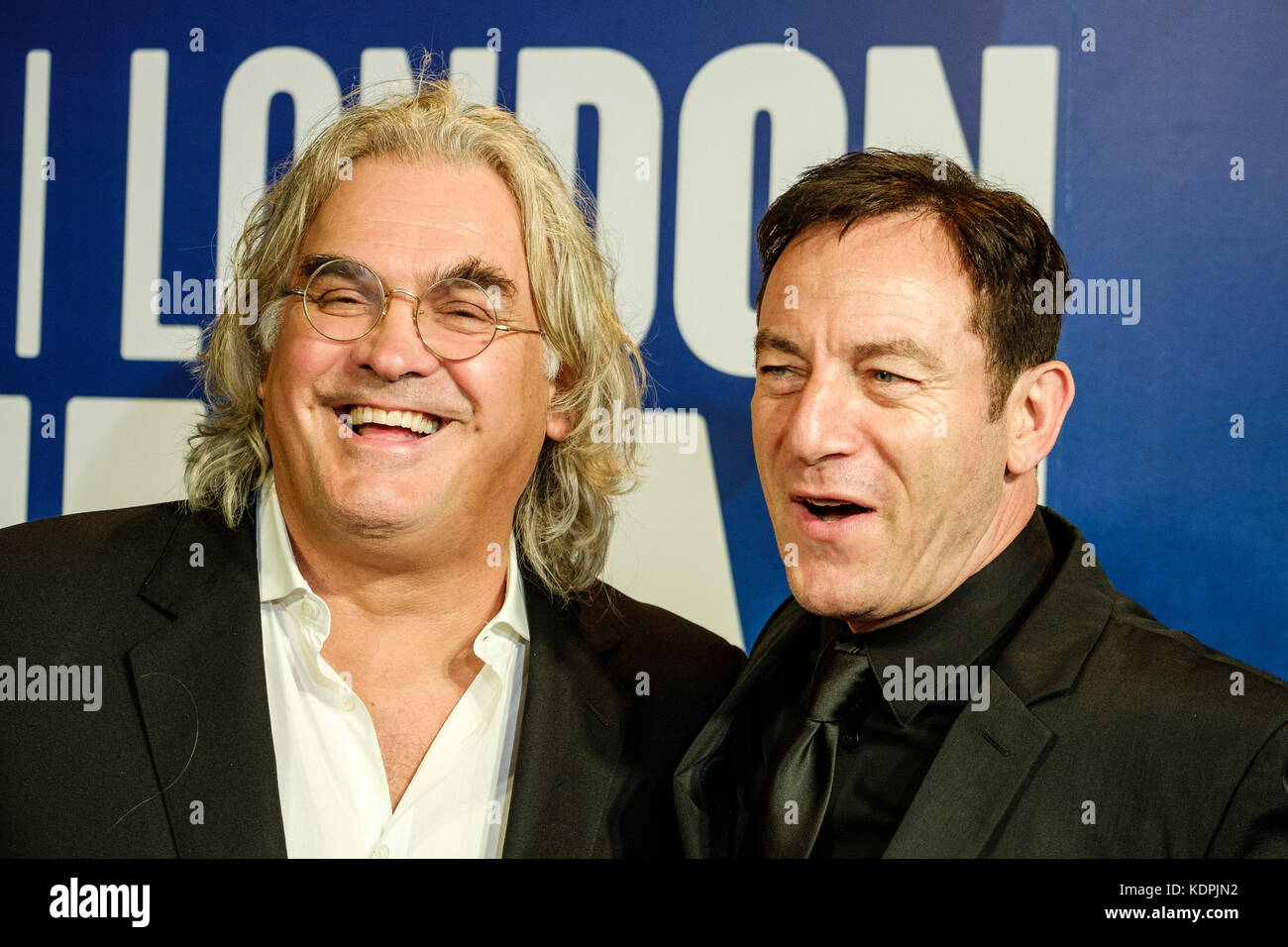 London, UK. 14th October, 2017. Jason Isaacs, Paul Greengrass at the Festival Awards Dinner for the  London Film - Stock Image