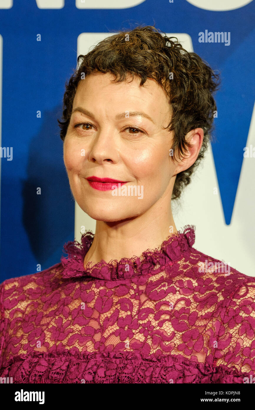 London, UK. 14th October, 2017. Helen McCrory  at the Festival Awards Dinner for the  London Film Festival at Banqueting - Stock Image