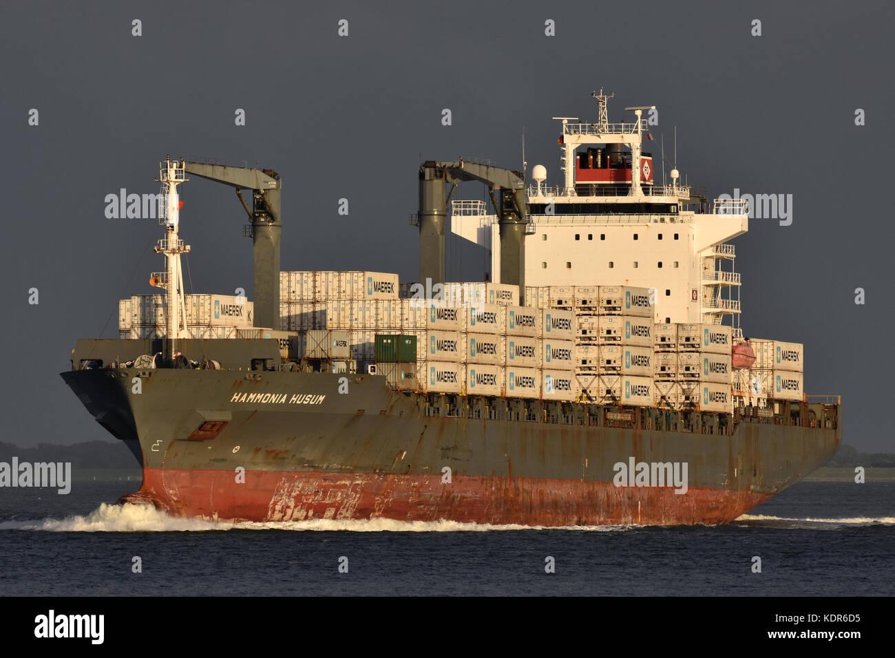 Hammonia Husum - Stock Image
