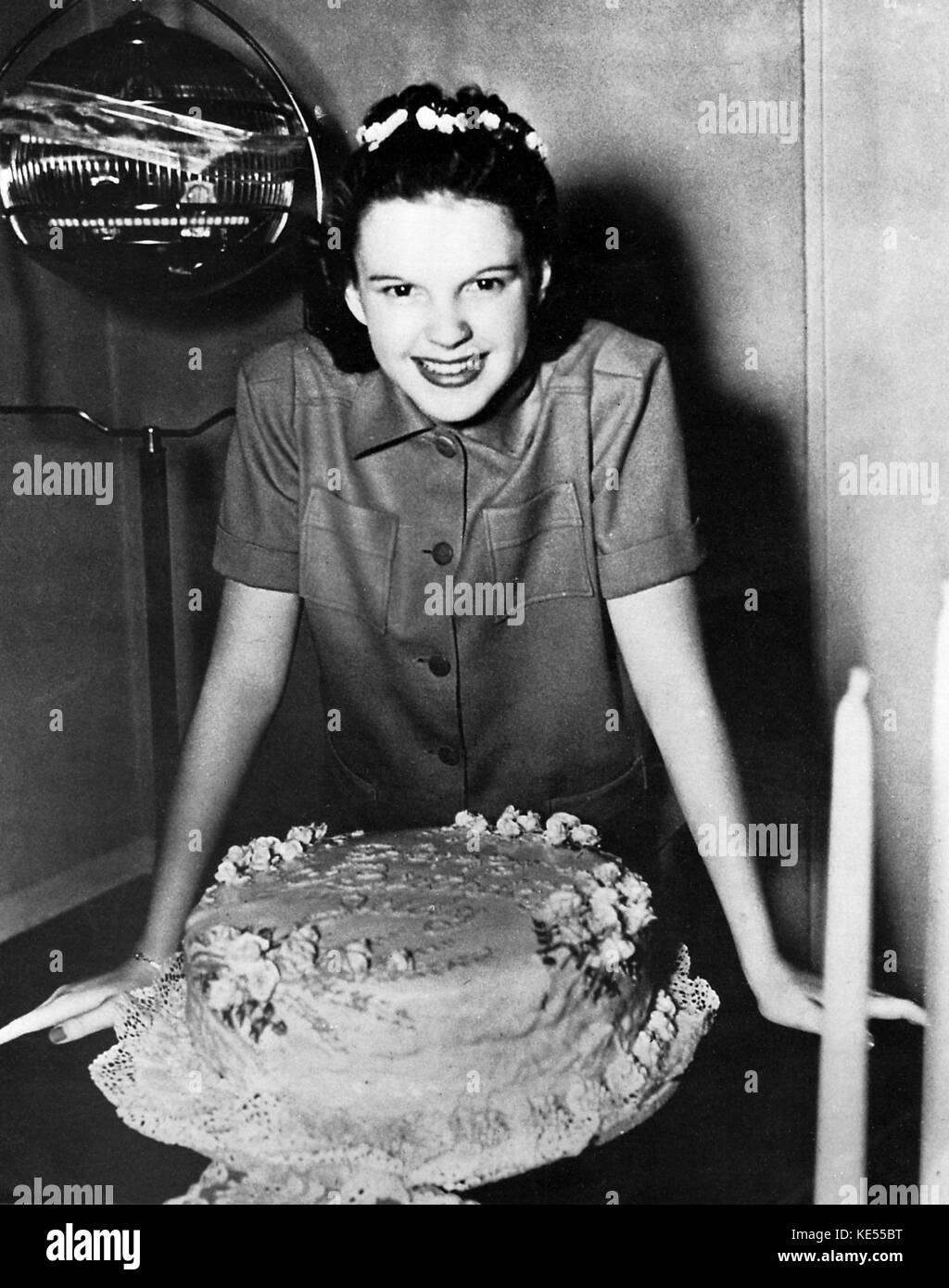 Judy Garland Birthday Cake