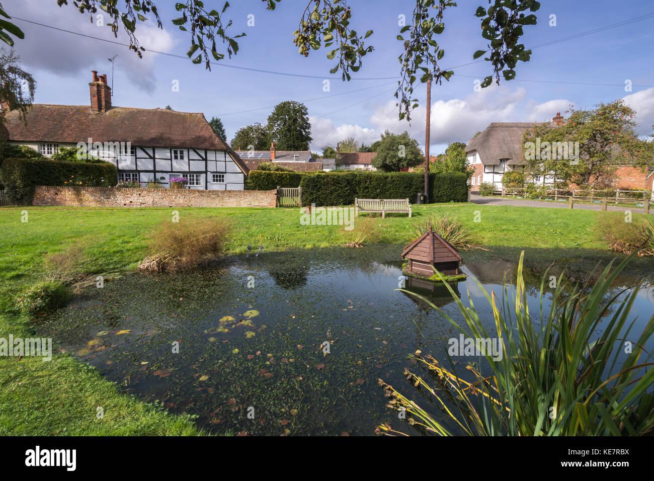 upton-grey-a-charming-village-in-hampshire-uk-village-pond-and-timber-KE7RBX.jpg