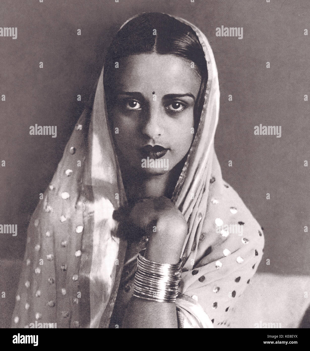 Amrita Sher Gil 2 Stock Photo