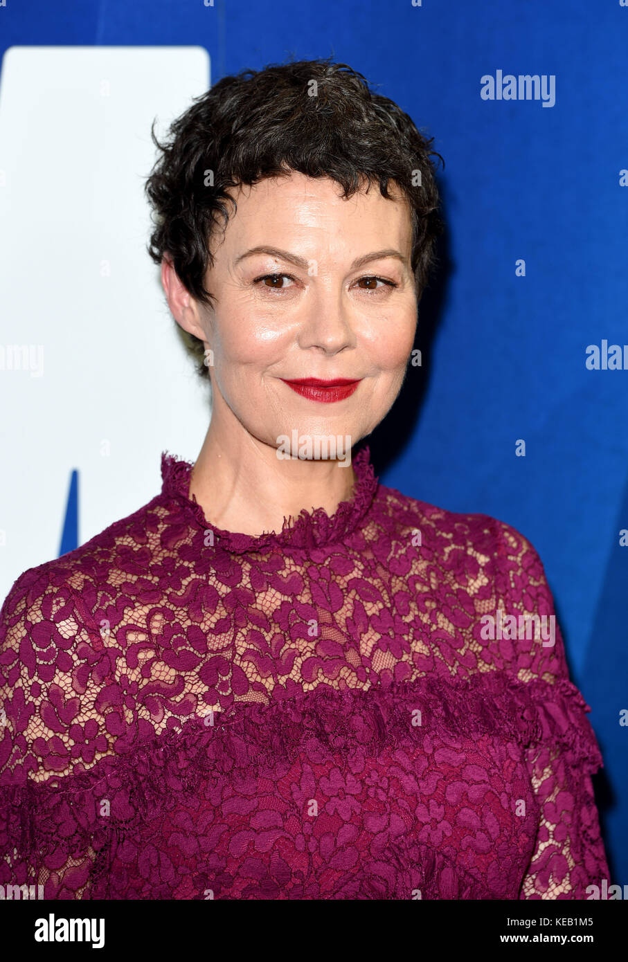 Photo Must Be Credited ©Alpha Press 079965 14/10/2017 Helen McCrory London Film Festival Awards 2017  during - Stock Image