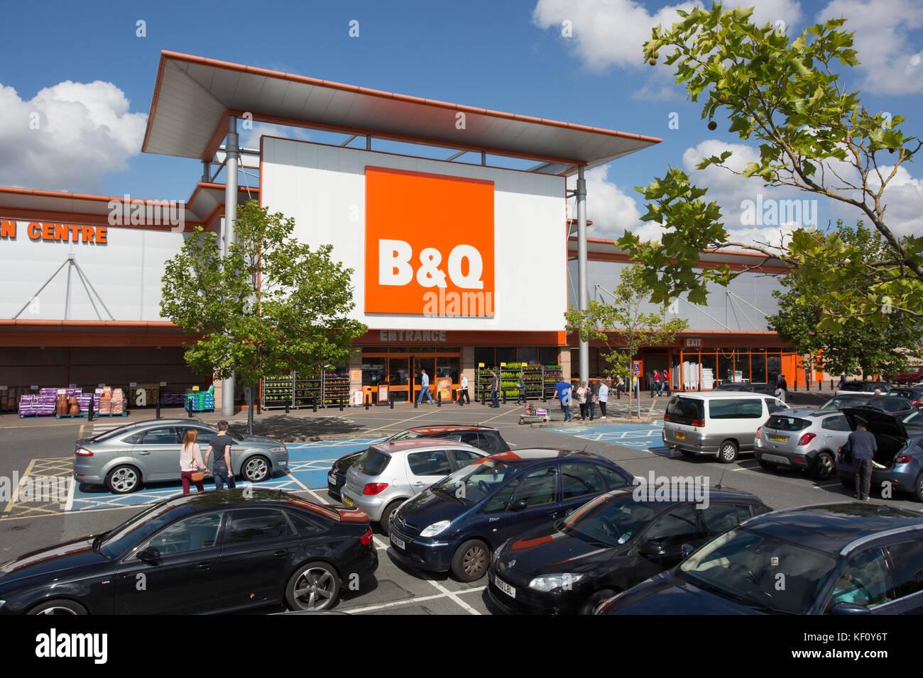 b&q stockport