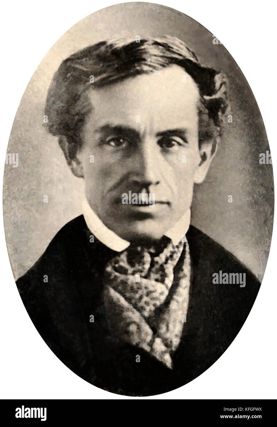 Samuel Morse, Samuel Finley Breese Morse, American painter and inventor Stock Photo