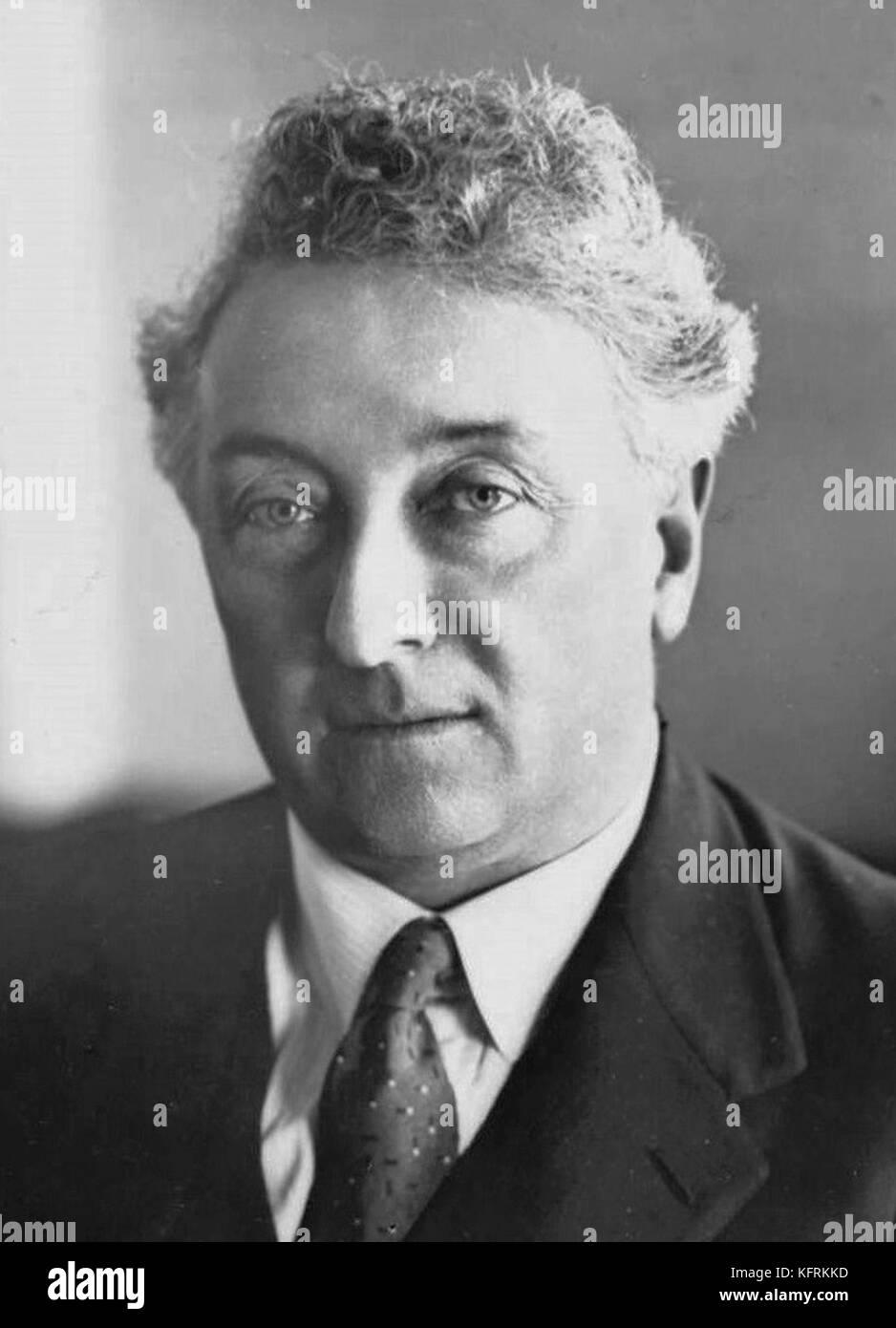 Joseph Aloysius Lyons, tenth Prime Minister of Australia - Stock Image