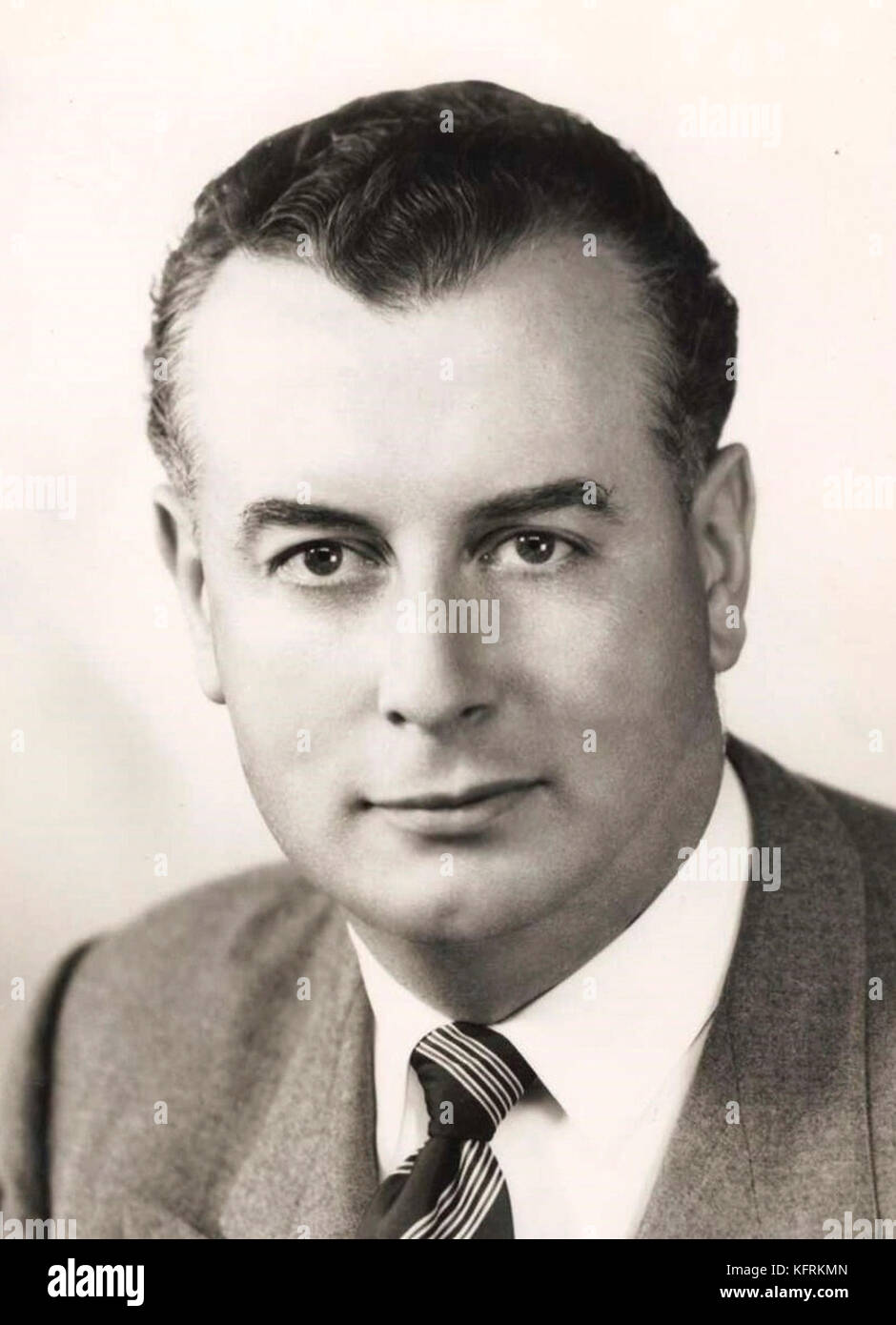 Edward Gough Whitlam, 21st Prime Minister of Australia - Stock Image