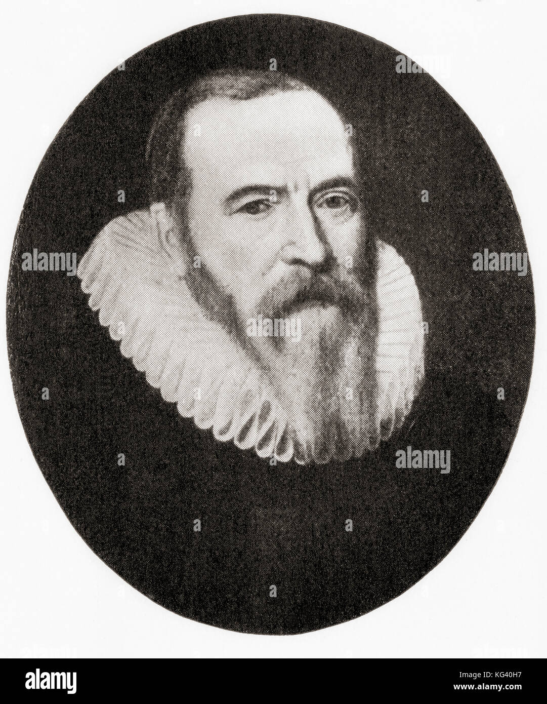 Johan van Oldenbarnevelt, 1547 – 1619.  Dutch statesman who played an important role in the Dutch struggle for independence - Stock Image