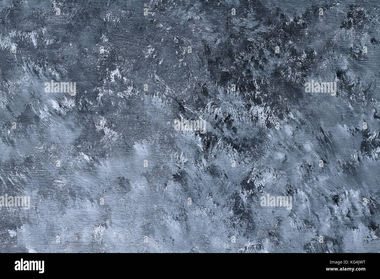 Hand painted grunge texture background with brush stroke marks. - Stock Image