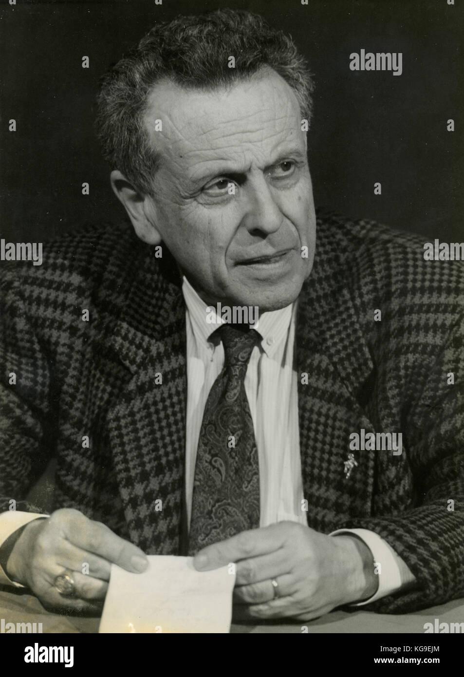 Italian Journalist Paolo Valenti