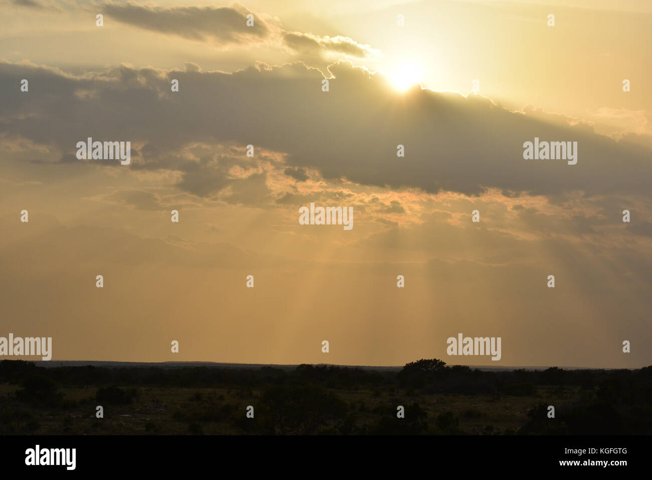 75a0467cbae78 Bright Sun rays Shining though Clouds Stock Photo  165070320 - Alamy