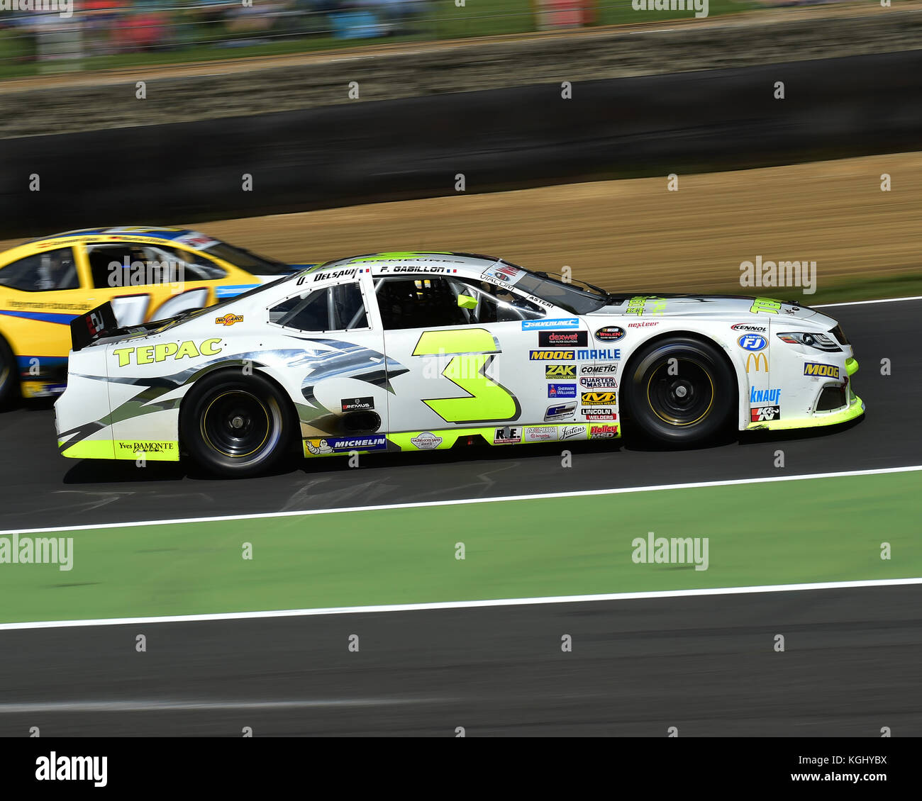 Ulysse Delsaux Toyota Camry Nascar Whelen Euro Series Elite 2