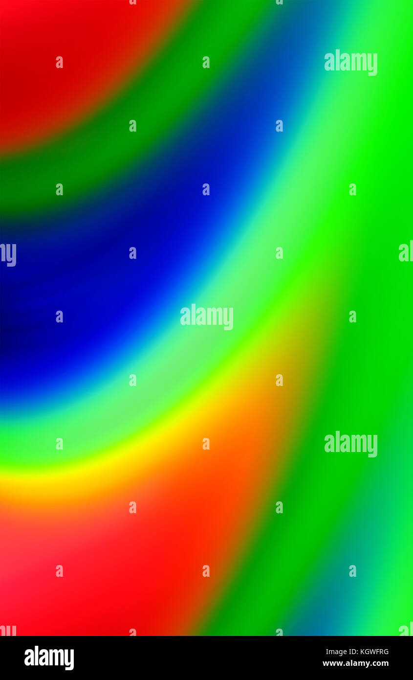 A beautiful background of red blue green , rgb in a random pattern. - Stock Image