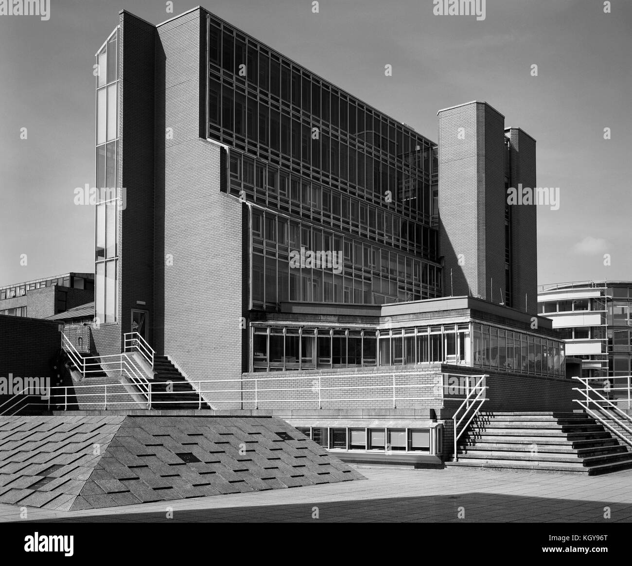 Cambridge Uuniversity History Building on the Sidgwick Site - Stock Image