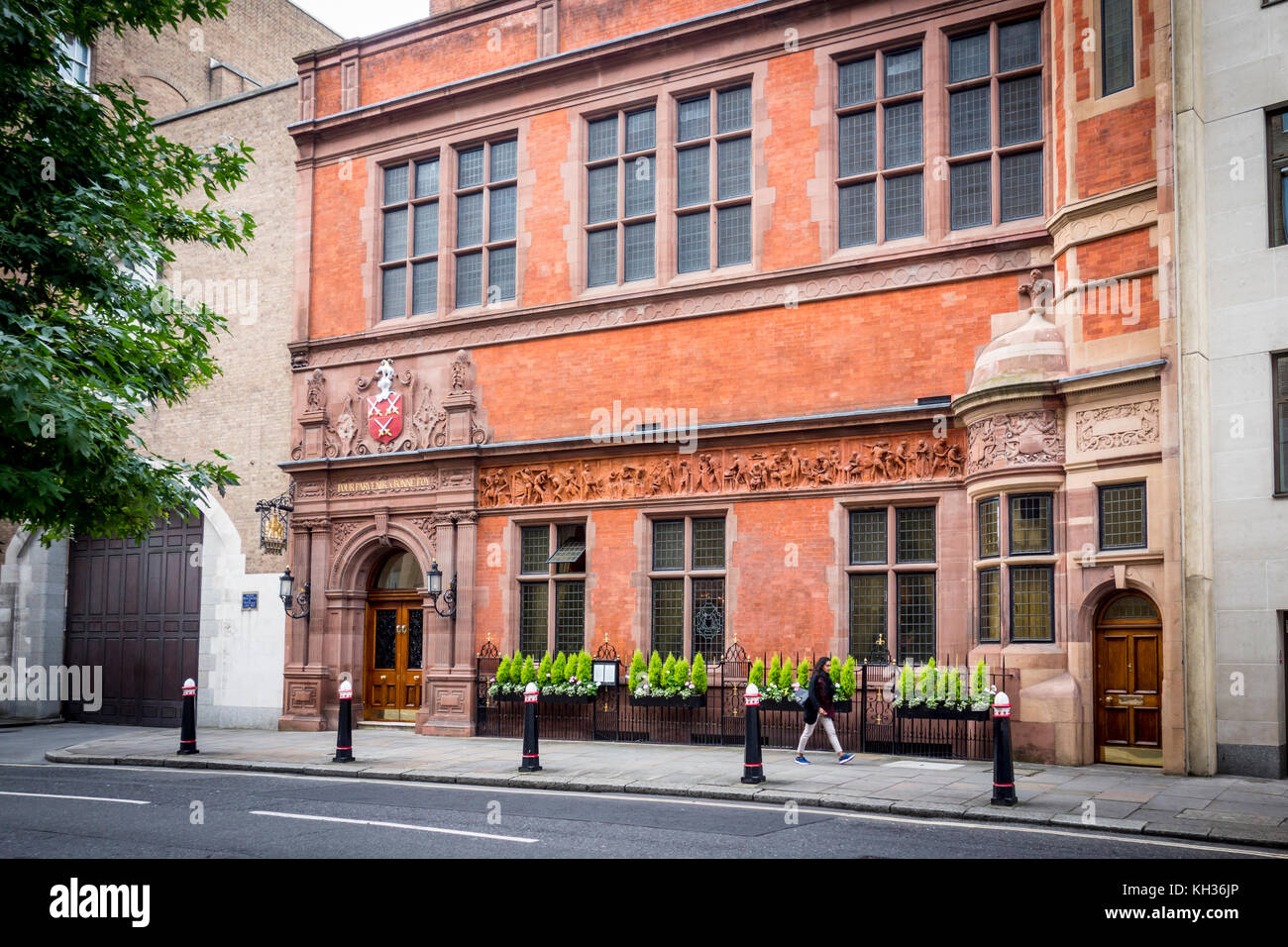 Cutlers' Hall, The Worshipful Company Of Cutlers designed by T. Tayler Smith, Warwick Lane, City of London, - Stock Image