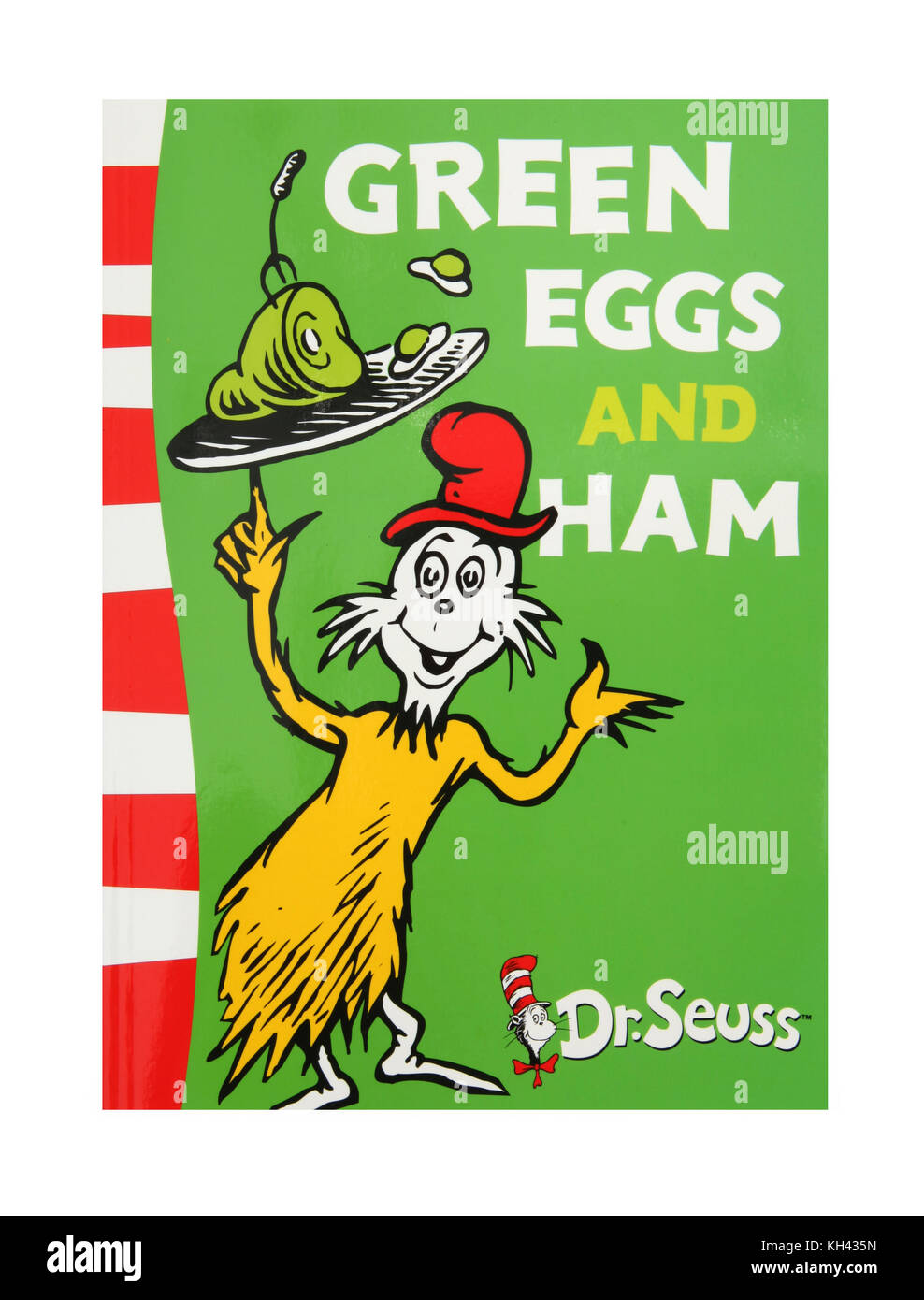The book, Green Eggs and Ham by Dr Seuss Stock Photo