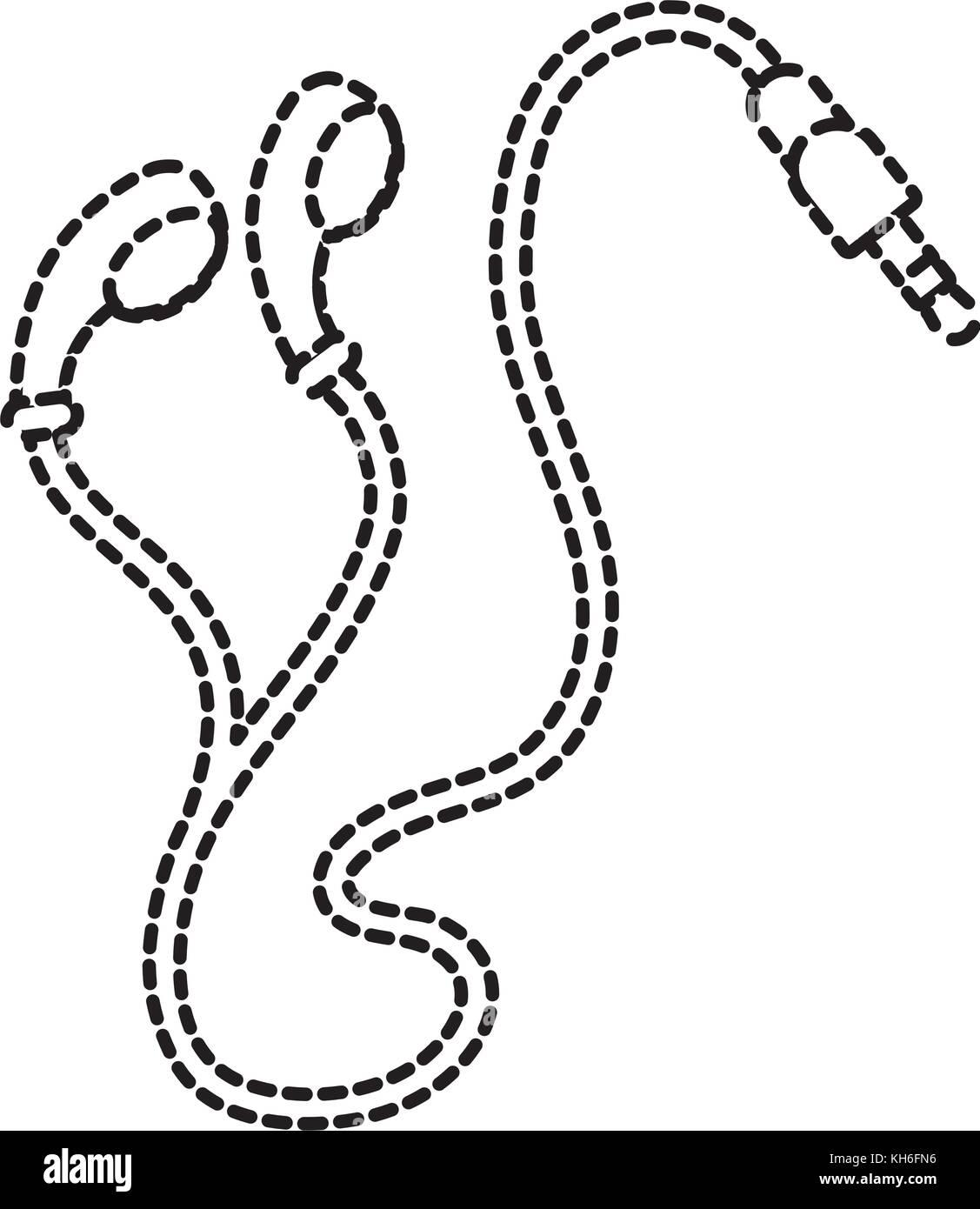 c7 plug wiring diagram database Stereo Jack Wiring earphones plug multimedia music cable stock vector art c14 plug c7 plug