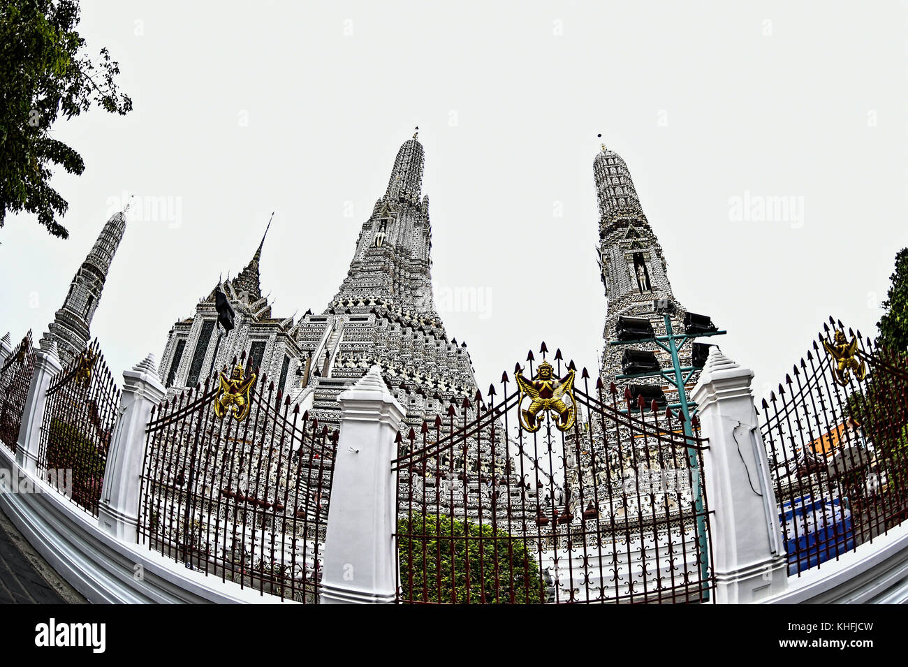 Wat Arun Temple, Bangkok, Thailand - Stock Image