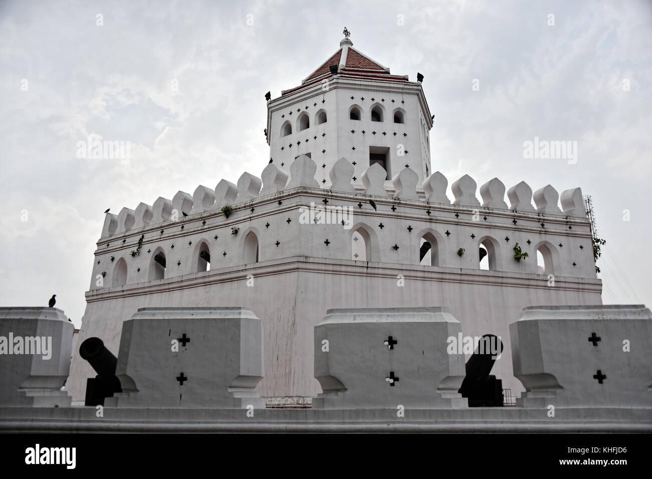 Phra Arthit Fort, Bangkok, Thailand - Stock Image