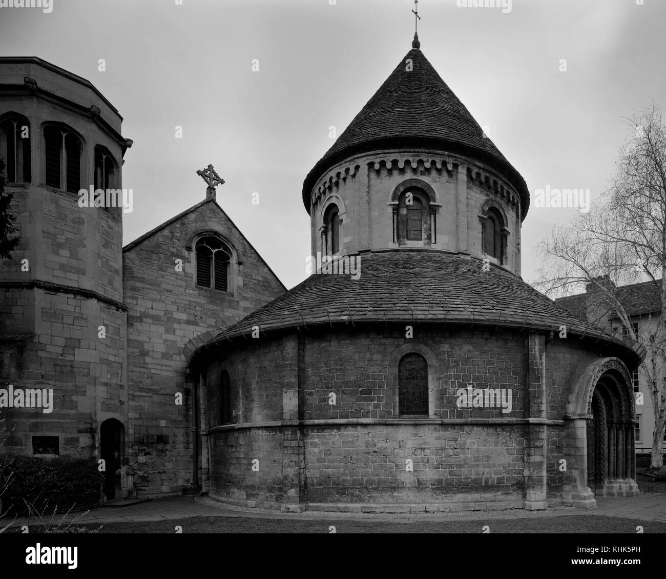 The Round Church of St Andrew the Great Cambridge - Stock Image