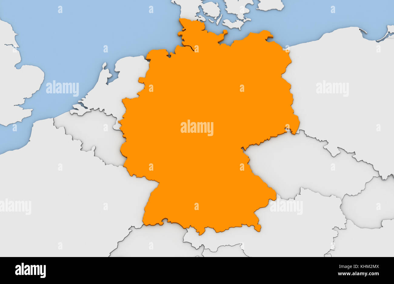 3d render of abstract map of germany highlighted in orange color 3d render of abstract map of germany highlighted in orange color gumiabroncs Image collections