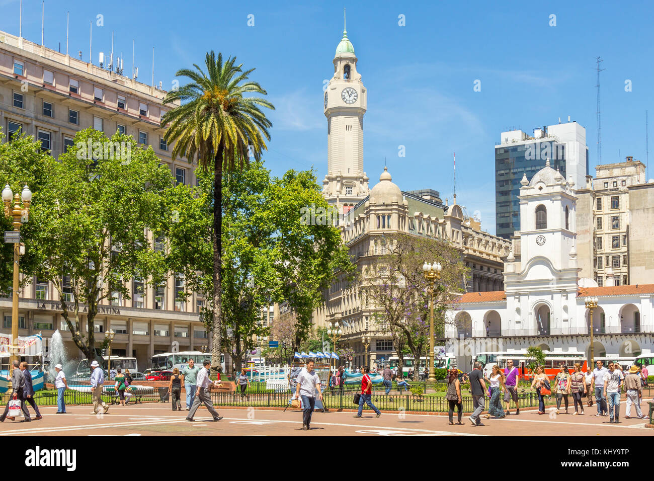 Plaza de Mayo | Buenos Aires | Argentina - Stock Image