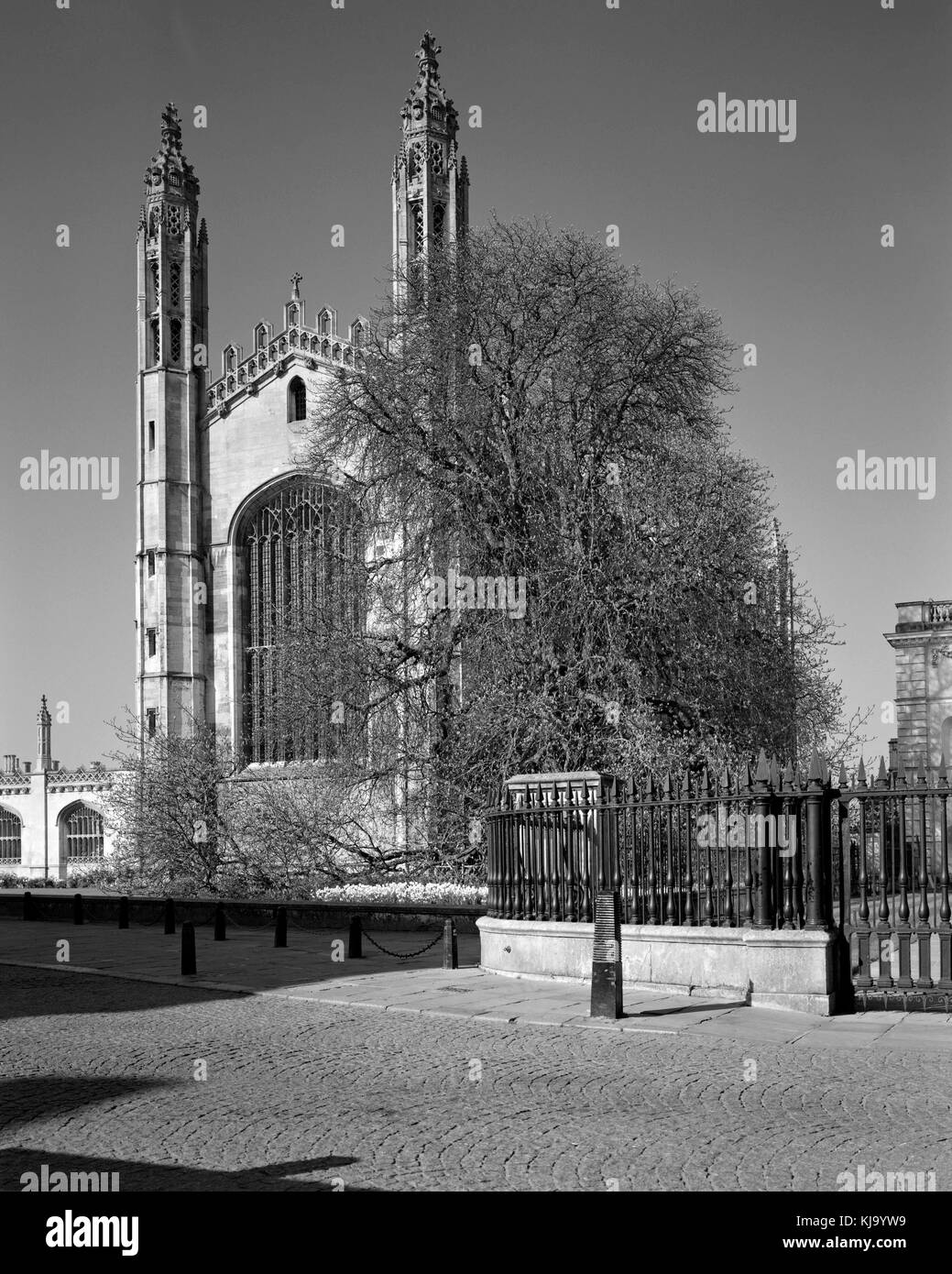 King's College Chapel on King's Parade Cambridge - Stock Image