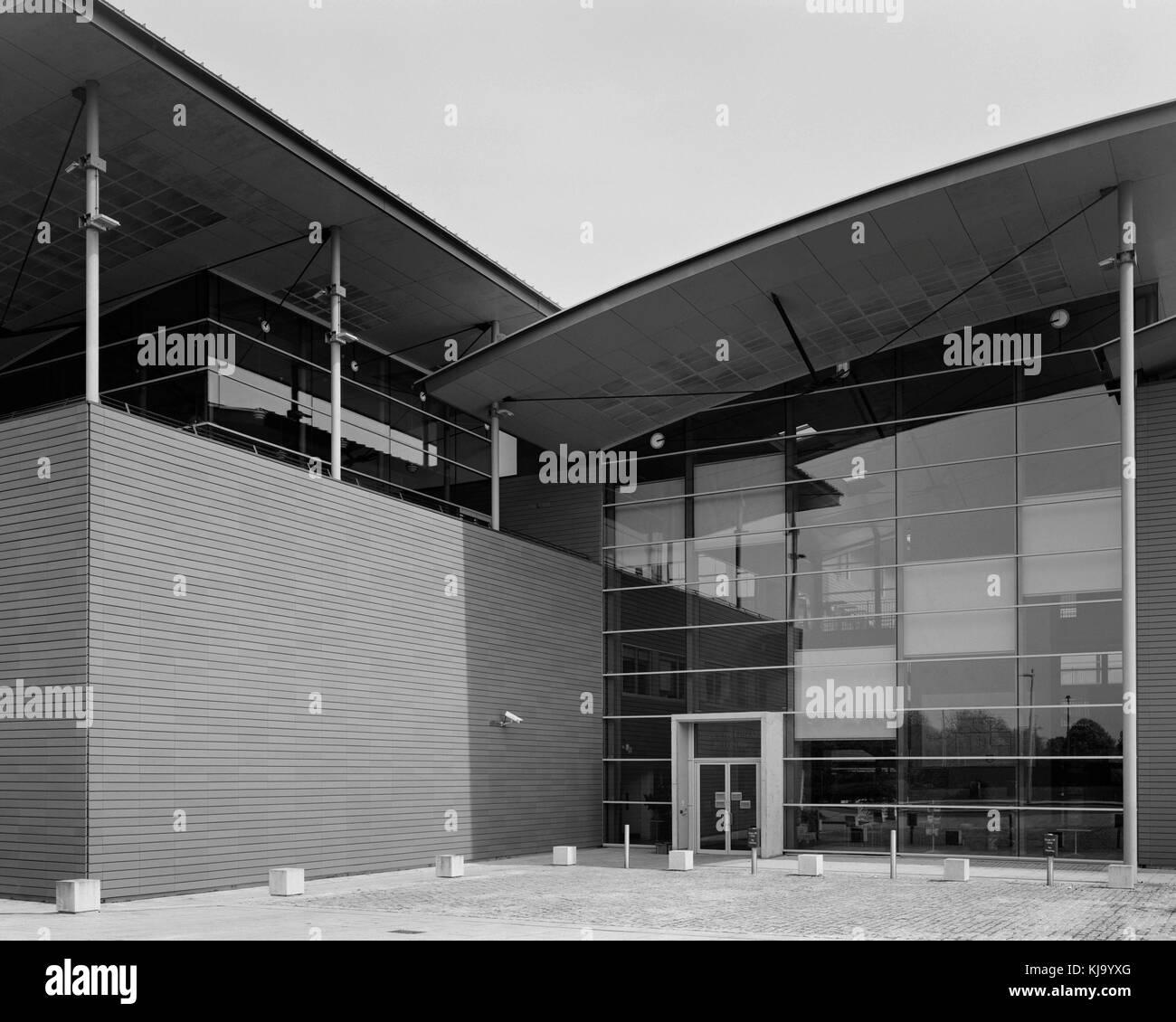 Cambridge University Roger Needham Building on the West Cambridge Site - Stock Image