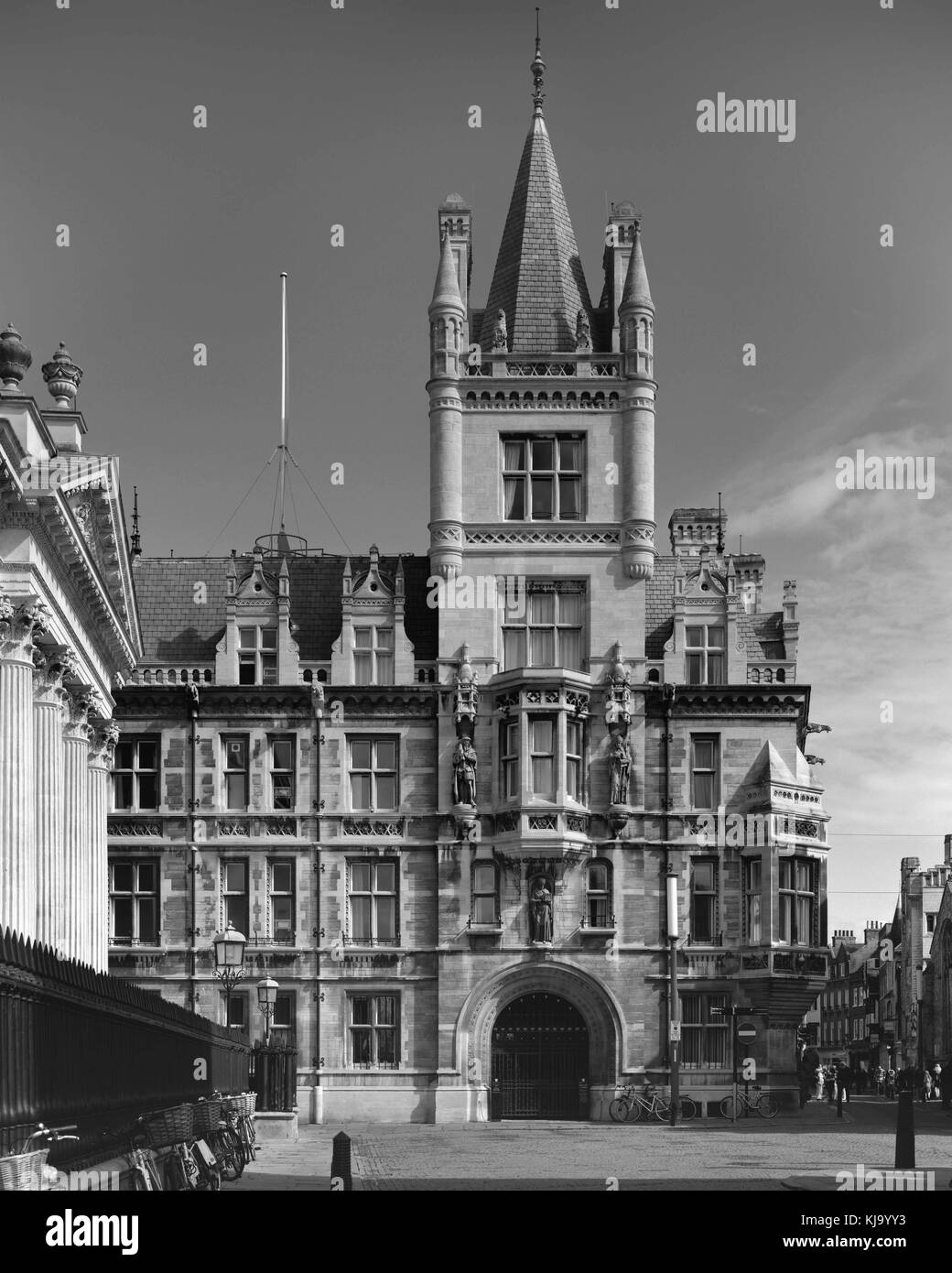 Gonville and Caius College Cambrdige - Stock Image